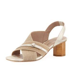 NEW Donald J Pliner Women's Radly Sandal Natural